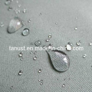 Polyester/Viscose Gabardine Fabric with PU Coating