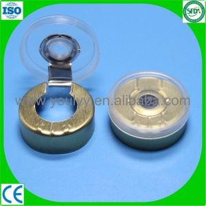 Plastic and Aluminum Tear off Cap for Vials pictures & photos