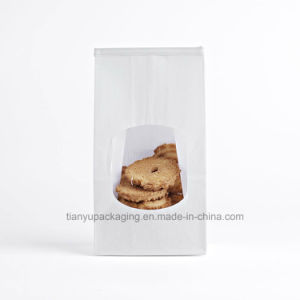 Bakery Bags, White Paper Bag, Tin Tie Tab Lock Bags pictures & photos