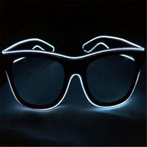 Sound Responsive LED EL Sunglasses pictures & photos