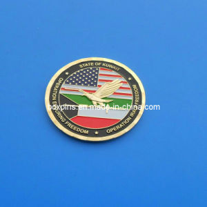 China Soft Enamel Military Metal Challenge Coin For Usa