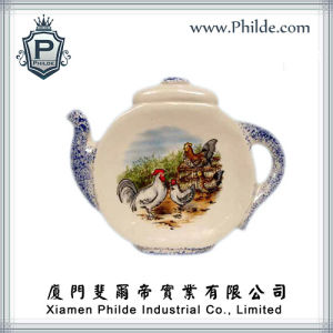 Ceramic Teapot Refrigerator Magnet