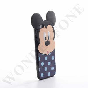 2016 Cartoon Cute 3 in 1 PC+TPU+Silicone Case for iPhone pictures & photos