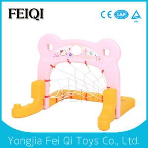 Indoor Playground Football Frame Plastic Basketball Backboard for Promotional Gift Toy for Kids pictures & photos