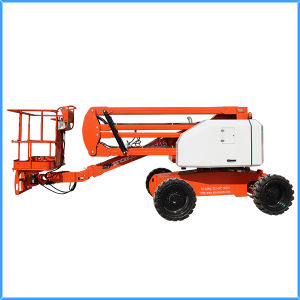 15m Self Propelled Hydraulic Articulating Boom Lift