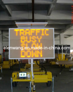 Vms Trailer with LED Sign Single Color pictures & photos