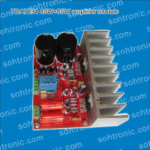 7294HiFi Amplifier Board with Heat Sinks Bluetooth Amplifier Module pictures & photos