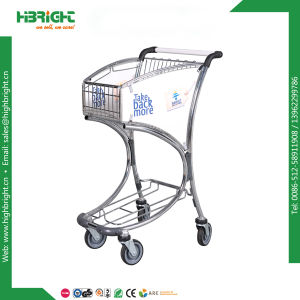Airport Luggage Trolley for Storage with Hand Brake pictures & photos