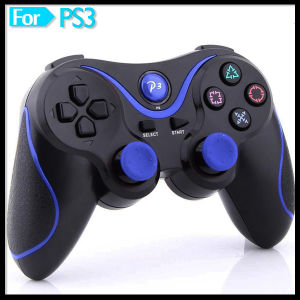 Beauty Design Double Shock Gamepad Game Pad Controller for PS3 Game Console pictures & photos