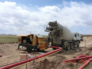 Concrete Pump Used (HBTS80-18-181R)