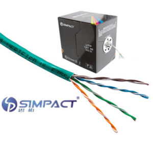 Unshield Twisted Pairs Category 5e with Stranded Copper Conductor-Simpact pictures & photos