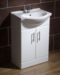Floor Mounted Bathroom Cabinet (AM-4002)