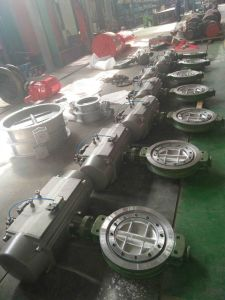 Pneumatic Wafer Butterfly Valve with High Quality pictures & photos