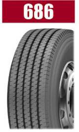 Heavy Load Brand Radial Truck Tire 686