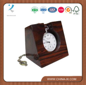 Custom Fashionable Vintage Wooden Pocket Watch Display Stand pictures & photos