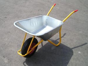 Industial Building Equipment Powder Coating Garden Wheelbarrow (WB5009) pictures & photos