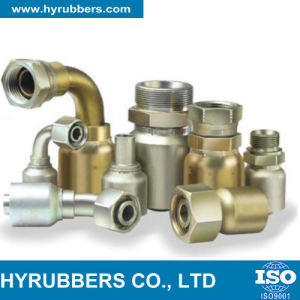 Hyrubbers Ss Braided Hose Flexible Hydraulic Hose with Fittings pictures & photos