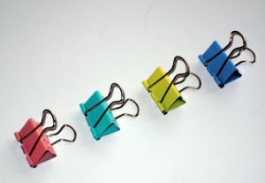 25 Mm(1 Inch) Colored Binder Clips (1304) pictures & photos