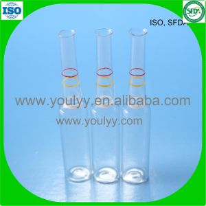 Breaking Ring Clear Glass Ampoule pictures & photos