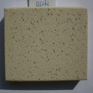 Quartzite Worktops Materials Artificial Quartz Stone (QS262) pictures & photos