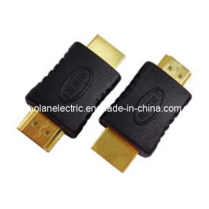 Gold Plated HDMI Adapter for PS3 xBox360 Home Theater pictures & photos