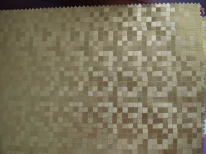 Embossed Surface Design PVC Artificial Leather for Sofa pictures & photos