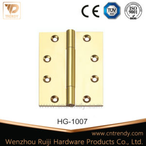 Door&Window&Furniture Hardware Flat Brass Hinge Cabinet Hinge pictures & photos