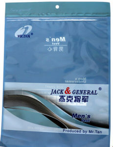 Customized Vest Packaging PE Plastic Bag pictures & photos