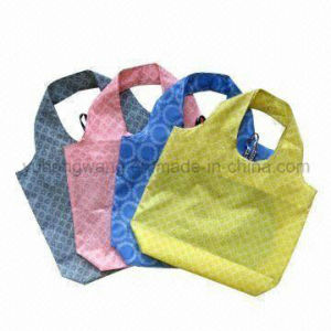 Advertisement Fold Drawstring Shopping Bag, Give Away pictures & photos
