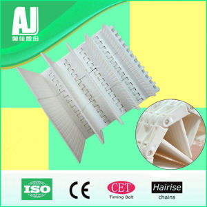 Food Grade Plastic Modular Belt (Har6100 series baffle) pictures & photos