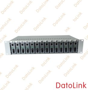 14 Slots Media Converter Rack pictures & photos