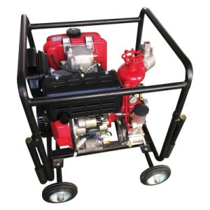 10HP Fire Fighting Pump with Air-Cooled Diesel Engine pictures & photos