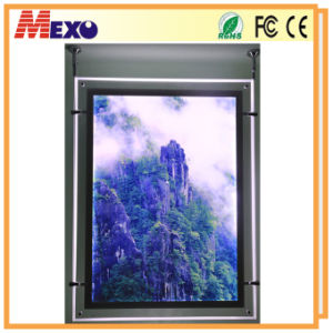Custom Size Hanging Crystal Outdoor Light Box pictures & photos