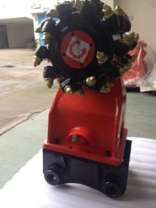 Hydraulic Drum Cutters with Mounting Bracket for Sale pictures & photos