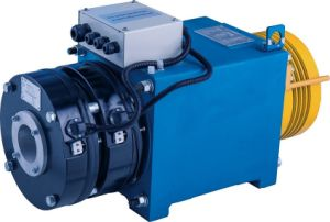Permanent-Magnet Synchronous Gearless Machine for Elevators (WYJ140) pictures & photos