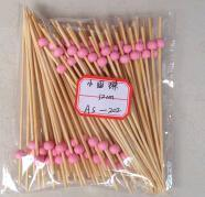 Knotted Safe Bamboo BBQ Fancy Party Mini Skewers pictures & photos