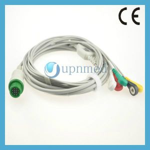 Tbiolight a Series One Piece 5 Lead ECG Cable pictures & photos
