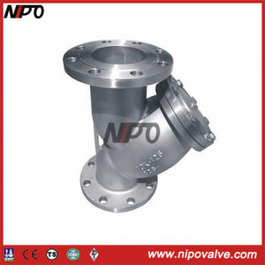 Stainless Steel Flanged Y Type Filter pictures & photos