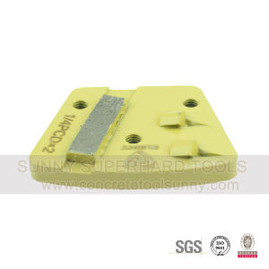 PCD Trapezoid Floor Diamond Grinding Pad Shoes Tools pictures & photos