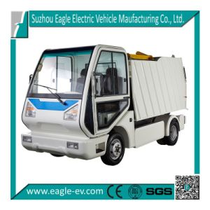 Garbage-Collecting Vehicle, for Garbage Barrel Lifting, with Hydraulic Pump, 72V 6.3kw pictures & photos