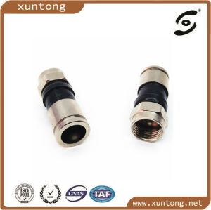 High Quality Brass Cu Compression Rg11 Coaxial Connector pictures & photos