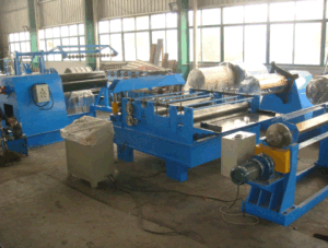 11kw Decoiler Power 0.25 - 1.2mm Thick Cut-to-Length Line Slitting Machine pictures & photos