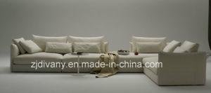 Divany Furniture Modern Leather Sofa Set D-74-B+D (R) +E (L) pictures & photos
