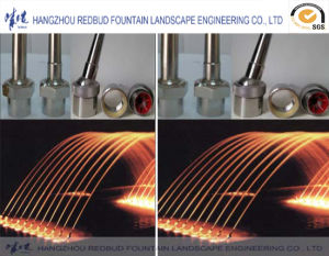 Universal Straight Jetting Fountain Nozzle (stainless steel or brass) pictures & photos