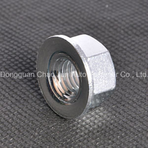Hex Disc Nut Carbon Steel Zinc Plated