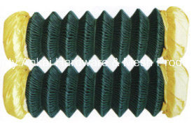 PVC Coated Chain Link Wire Mesh pictures & photos