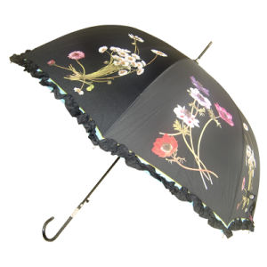 High Quality Apollo Shape Straight Umbrella with Auto Open Function for Advertising (58T056)