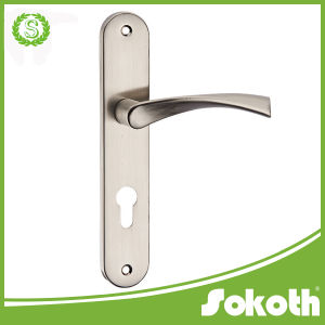 2016 on The Plate Classical Aluminum Door Handle Lever Handle pictures & photos