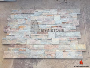 Rusty Quartzite Culture Stone for Wall Cladding Tile pictures & photos