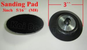 3in 5/16`` Sanding Backup Pad with Hook & Loop pictures & photos